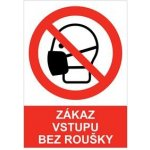 Od 1.9.2020 je zákaz vstupu do ordinace bez roušky